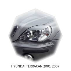 Накладка на фару. Hyundai Terracan, HP Двигатели: D4BH, G4CU, G6CU, J3