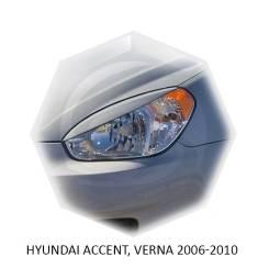 Накладка на фару. Hyundai Accent, MC Двигатели: D4FA, G4ED, G4EE