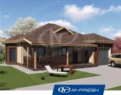 M-fresh Freee-e-eeedom! (Проект дома для свежей жизни на свободе! ). 100-200 кв. м., 1 этаж, 4 комнаты, бетон