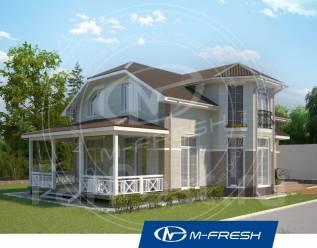 M-fresh B!g Lord (Проект дома с прекрасной террасой! ). 200-300 кв. м., 2 этажа, 5 комнат, бетон