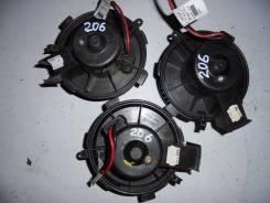 Мотор печки. Peugeot 206, 2A/C, 2B, 2A, C
