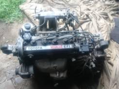 Двигатель в сборе. Toyota Carina, AT170, AT170G Двигатель 5AFE