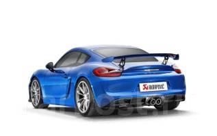 Выхлопная система. Porsche Cayman, 981