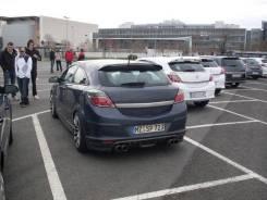 Обвес кузова аэродинамический. Opel Astra