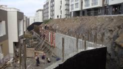 Подпорные стенки (ограждающие конструкции)