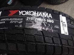 Yokohama Geolandar I/T-S G073. Зимние, без шипов, 2015 год, без износа, 4 шт