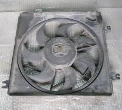 Вентилятор радиатора кондиционера. Kia Spectra