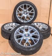Zauber Martini R17 / Bridgestone Nextry 215/45. 7.0x45 4x114.30, 5x114.30 ET40 ЦО 73,1мм.
