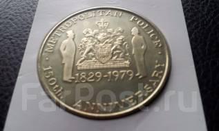 Великобритания. Настольная памятная медаль. 1979 год.