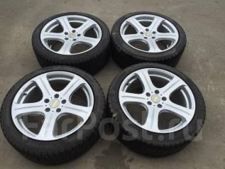225/45 R18 Dunlop DSX литые диски 5х114.3. 8.0x18 5x114.30 ET45