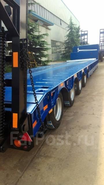 Cimc. Полуприцеп трайлер трал низко рамный 60 тонн. конники. фитинги., 60 000 кг.
