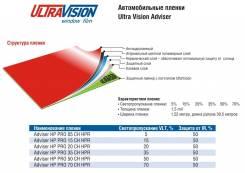 Плёнка тонировочная Ultra Vision Adviser HP PRO 20 CH SR HPR, защита от инфракрасного излучения 50%.