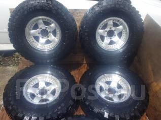 Большие колеса с Toyota Land Cruiser 80 R16. 8.0x16 6x139.70 ET0