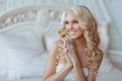Свадебный макияж + прическа 2500р