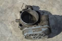 Заслонка дроссельная. Mercedes-Benz CLK-Class, W208 Двигатель M112