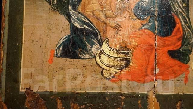 Подписная икона Рождества Пресвятой Богородицы. Россия, Xviii век. Оригинал
