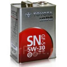 Toyota. Вязкость 5в30, синтетическое