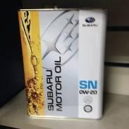 Subaru. Вязкость 0W-20