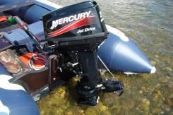Mercury. 25,00л.с., 2х тактный, бензин, нога S (381 мм), Год: 2013 год