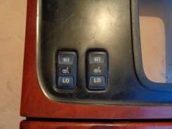Кнопка включения обогрева. Toyota Land Cruiser Cygnus, UZJ100W Toyota Land Cruiser, HDJ101, UZJ100W, HDJ100, UZJ100 Двигатели: 2UZFE, 1HDFTE