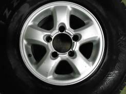 """Оригинальное колесо 16"""" на Toyota Land Cruiser 105, вылет +2. 8.0x16 5x150.00 ET2 ЦО 110,0мм."""
