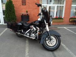 Harley-Davidson Touring Street Glide. 1 584 куб. см., исправен, птс, с пробегом