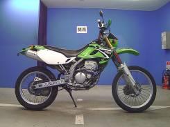 Kawasaki KLX 250. 249 куб. см., исправен, птс, без пробега