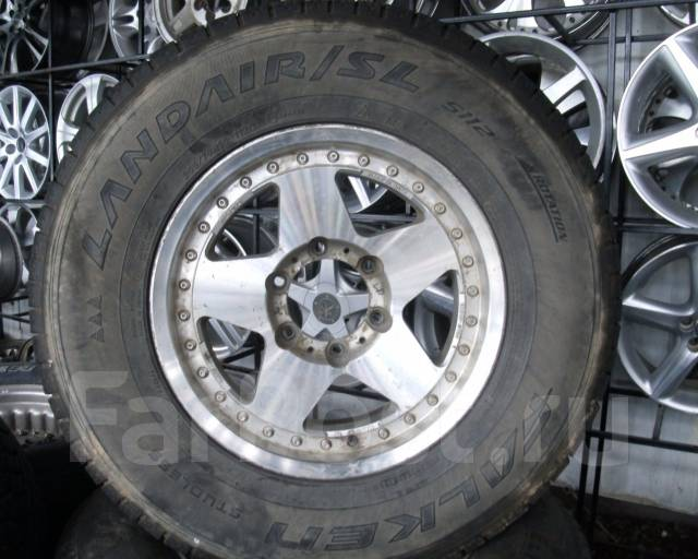Шины Falken 265/70R16 на литье Toyota Prado, Surf и т. д. 7.0x16 6x139.70 ET8
