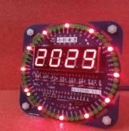Модуль LED часы. Diodvl