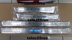 Порог пластиковый. Toyota Land Cruiser, HDJ101, FZJ100, UZJ100W, FZJ105, HDJ101K, HDJ100, HZJ105, UZJ100, UZJ100L, HDJ100L, J100
