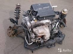 Двигатель. Toyota Cami Двигатели: K3VT, K3VE, K3VET