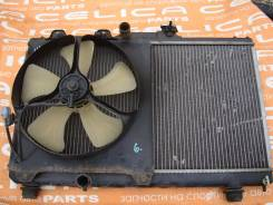 Радиатор охлаждения двигателя. Toyota Sprinter Trueno Toyota Corolla Levin Двигатель 4AGE