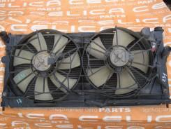 Радиатор охлаждения двигателя. Toyota Celica, ZZT231 Двигатель 2ZZGE