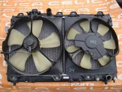 Радиатор охлаждения двигателя. Toyota Celica, ST202 Двигатель 3SGE