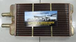 Радиатор печки водителя GRANBIRD EF750 / BHD DEF / SD CU / 420*220*55 ( 415*215*65 ) Медь