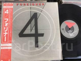 Форинер / Foreigner - 4 - JP LP 1981 четвёртый JUKE BOX HERO
