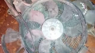 Вентилятор охлаждения радиатора. Nissan Skyline, ECR33 Двигатель RB25DE