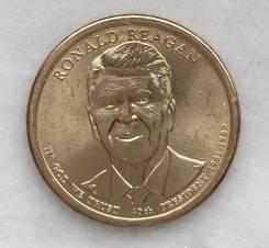 1 доллар США Рейган 40 президент-Новинка 2016