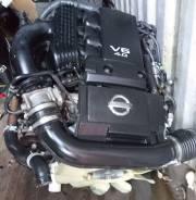 Двигатель. Nissan Navara Nissan Pathfinder, R51 Nissan Frontier Nissan Xterra Двигатель VQ40DE