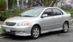 Обвес кузова аэродинамический. Toyota Corolla, ZZE130, ZZE131, ZZE132, ZZE133, ZZE134 Двигатели: 1ZZFE, 2ZZGE