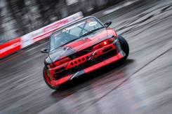Обвес кузова аэродинамический. Nissan Silvia, S13. Под заказ