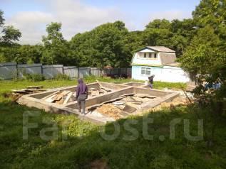Планировка участка, пилка деревьев, фундамент, дринаж