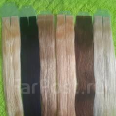 Натуральные волосы для ленточного наращивания волос