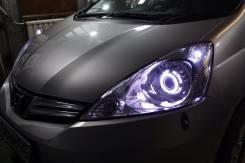 Продам комплект тюнингованных фар на Honda Fit GE6 GE7 GE9 GE8