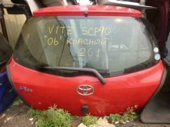 Дверь багажника. Toyota Vitz, KSP90, SCP90