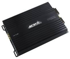 Усилитель ACV LX-4.60S, 4 х 60-80 Вт. RMS 4-2 Ом, мостовой режим 2 х 160 Вт. RMS 4 ом, диапазон 10-30000 Гц, HPF 32-2000 Гц, LPF 32-300 Гц .