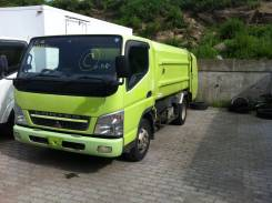 Mitsubishi Canter. 2005.12, грузовой-мусоровоз, объем отсека 6.1 м3, 4 899 куб. см., 3 300 кг.