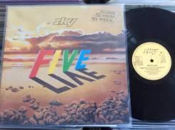 PROG! СКАЙ / SKY - FIVE LIVE - Пятый Альбом - 1983 DE 2LP