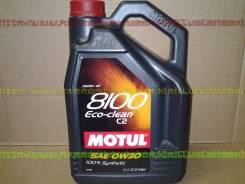 Motul 8100 Eco. Вязкость 0W-30, синтетическое