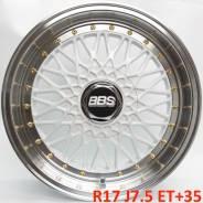 BBS RS. 7.5x17, 5x100.00, 5x114.30, ET35, ЦО 73,1мм.